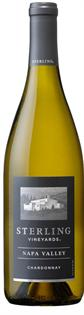 Sterling Vineyards Chardonnay Napa Valley...